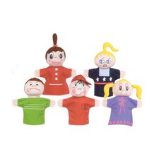 <strong>Get Ready Kids</strong> How Am I Feeling Hand Puppets (Set of 5)