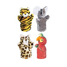 Zoo Puppet Set Ii Includes Elephant
