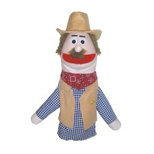 Half Body Character Puppets Cowboy