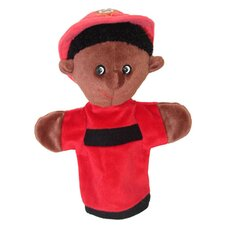 Black Firefighter Puppet