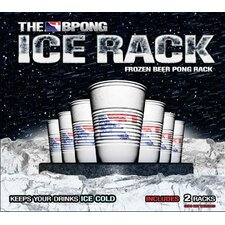 Ice Rack Frozen Beer Pong Rack Set