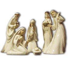 Porcelain 7 Piece Nativity Set