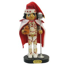 Elvis in Suit Nutcracker