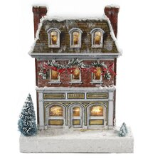 Kringle Lane LED Bakery Figurine