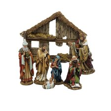 <strong>Kurt Adler</strong> Resin 7 Piece Nativity Set