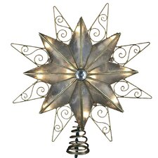Capiz 10 Light Star Tree Topper