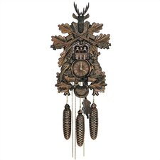 "24"" Traditional 8-Day Movement Musical Cuckoo Clock with Deer"