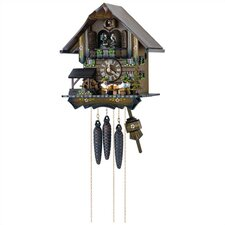 "12"" Cuckoo Clock with 4 Moving Beer Drinkers"