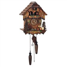 "12.5"" Quartz Cuckoo Clock with Beer Drinker"