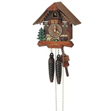 "8"" Cuckoo Clock with Dog"