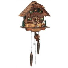 "10"" Musical Chalet Cuckoo Clock with Woodchopper"