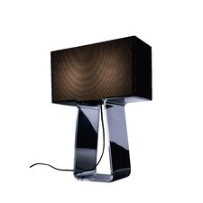 Tube Top Table Lamp with Rectangle Shade