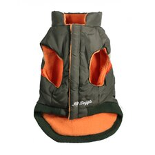 Urban Ski Dog Vest Version 1 in Olive