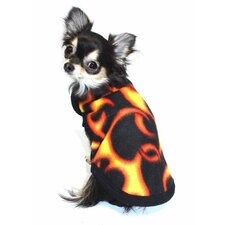Flame Fleece Dog Vest