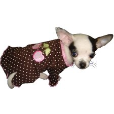 Cherry Dog Blouse in Pink