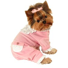 <strong>Hip Doggie</strong> Sweety Dog Jumper in Pink