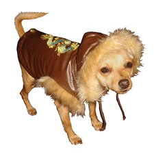Shaolin Dragon Dog Vest in Brown