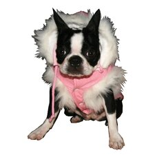 Shaolin Dragon Dog Vest in Pink