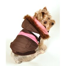 Urban Ski Dog Vest Version 2 in Brown