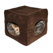 Double Door Safe House 2 in 1 Dog and Cat Bed