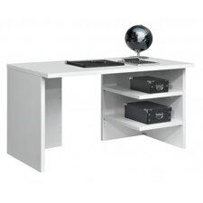 """Schreibtisch """"Work"""" mit Winkelfüßen und 2 Ablageböden"""