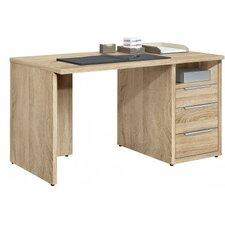 """Schreibtisch """"Work"""" mit Winkelfuß und Unterbauschrank"""