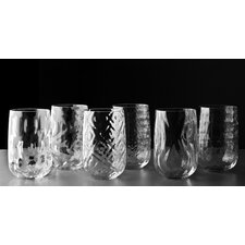 Bei Bicchieri Assorted Long Drink Glass (Set of 6)