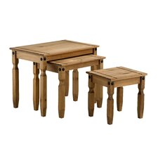 Corona 3 Piece Nest of Tables