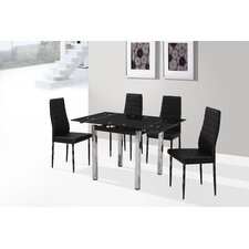 <strong>Birlea</strong> Camden 5 Piece Dining Set