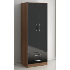 Lynx 2 Drawer Wardrobe