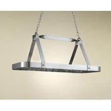 <strong>Hi-Lite</strong> Sterling Rectangular Hanging Pot Rack