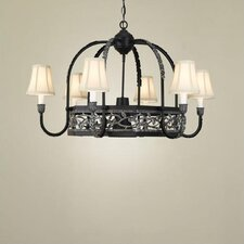Napa Chandelier Pot Rack