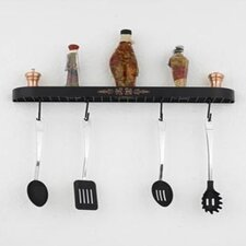 "Monterey 34"" Wall Mounted Pot Rack"