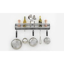 "Odysee 34"" Wall Mounted Pot Rack"