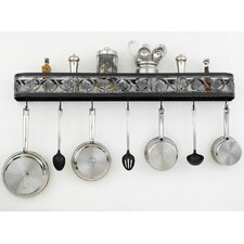 Leaf Wall Mounted Pot Rack