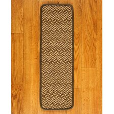 Cicero Tan Carpet Stair Tread (Set of 13)