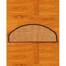 <strong>Natural Area Rugs</strong> Domino Beige Euro Carpet Stair Tread (Set of 13)