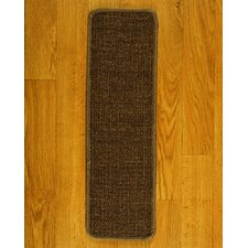 Exotics Brown Carpet Stair Tread (Set of 13)