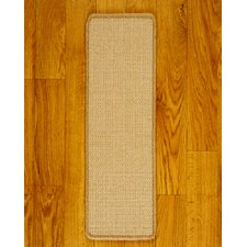 <strong>Natural Area Rugs</strong> Eden Beige Carpet Stair Tread (Set of 13)