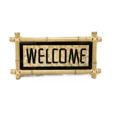 Bamboo - Welcome Garden Sign