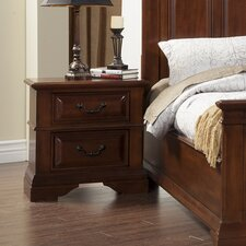<strong>Alpine Furniture</strong> Alton 2 Drawer Nightstand