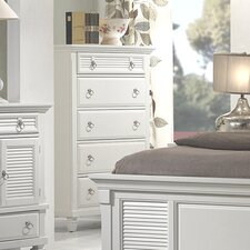 <strong>Alpine Furniture</strong> Winchester 5 Drawer Chest