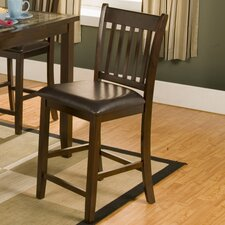 "Capitola 25"" Bar Stool with Cushion (Set of 2)"