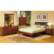 <strong>Alpine Furniture</strong> Costa Platform Bedroom Collection