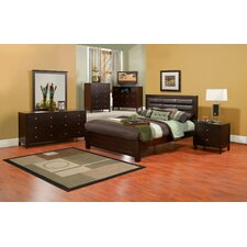 <strong>Alpine Furniture</strong> Solana Platform Bedroom Collection