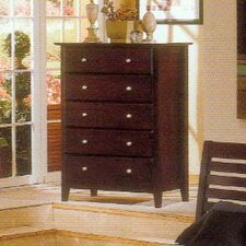 Portola 5 Drawer Tall Boy Chest