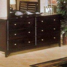 Portola 6 Drawer Dresser