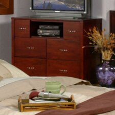 Newport 6 Drawer Media Chest