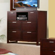 <strong>Alpine Furniture</strong> Camarillo 6 Drawer Media Chest