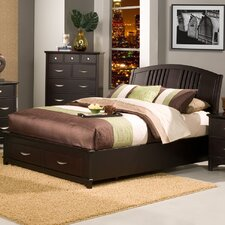 <strong>Alpine Furniture</strong> Del Mar Storage Platform Bed